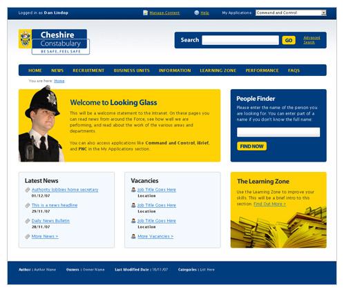 Public Services Web Design Portfolio Dan Lindop